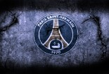 Paris Saint Germain Logo On Wall Wallpaper HD