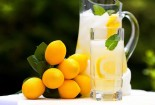 Freh Lemonade Mint Drink Wallpaper Image