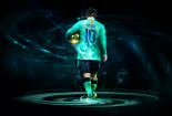 Messi Best Player Barcelona Team Wallpaper