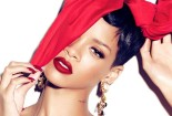 Rihanna Beautiful Red Lips Wallpaper HD