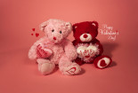 Valentines Day With Cute Dolls Wallpaper HD