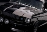 Black, Mustang, Wallpaper