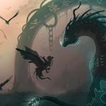 Dragon Fantasy, Anime, Wallpaper