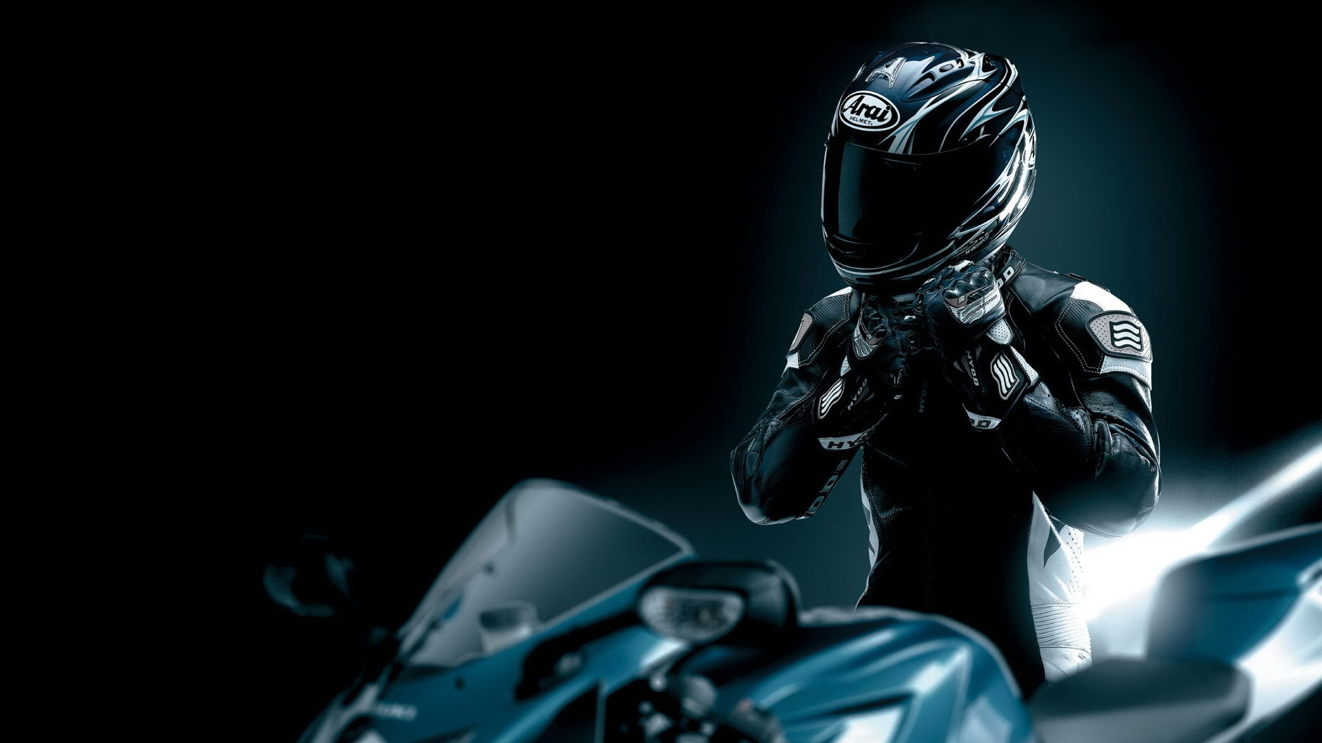 Helmet Arrai Motorcycle Wallpaper Wallpaper