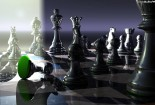 Chess, 3d, HD Wallpaper