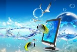 Cool, Animated, 3d, Fish, HD Wallpaper