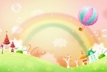 Cute, Cartoons, HD Wallpaper