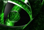 Green, Balls, 3d, HD Images