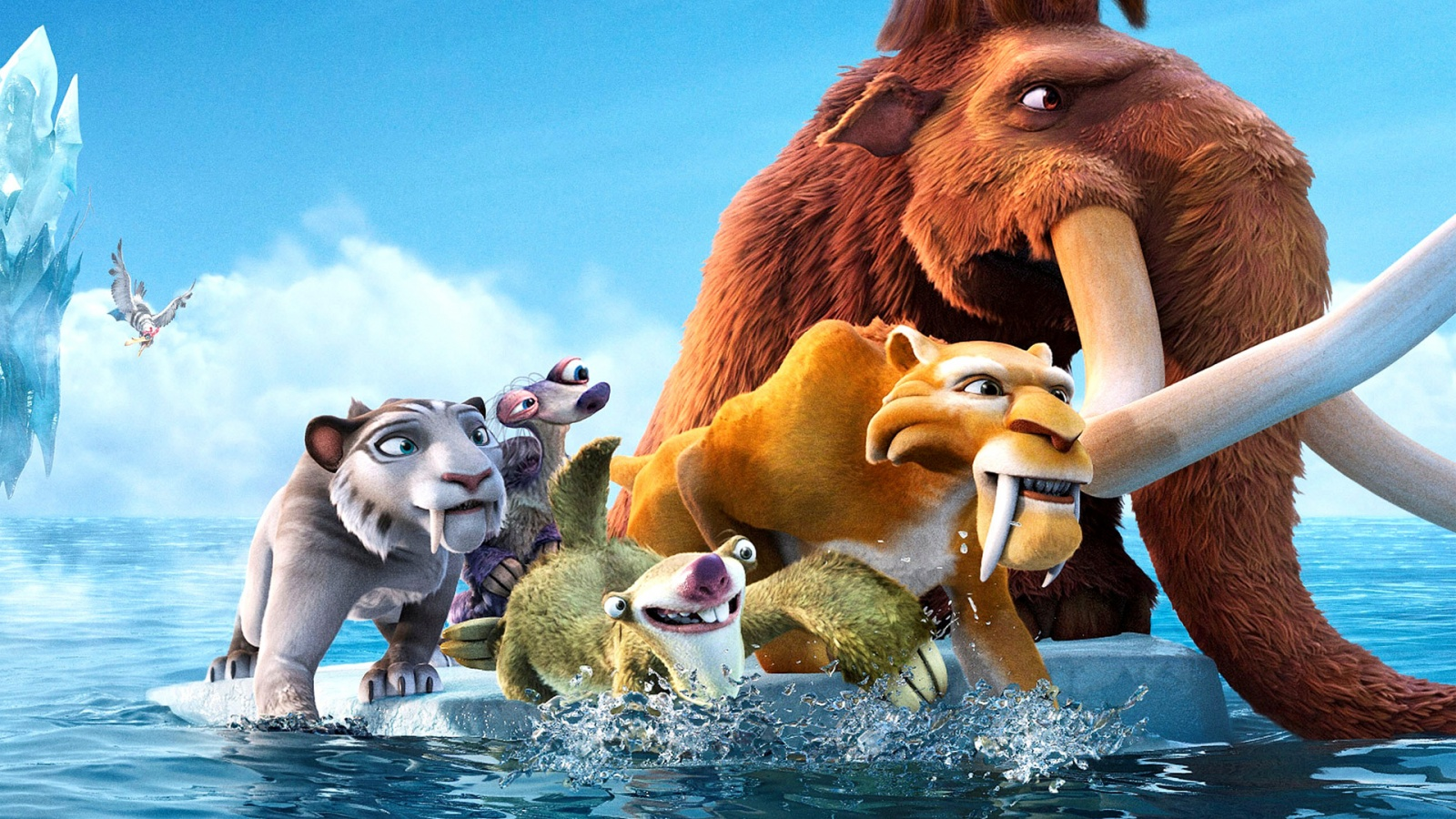 Ice Age Wallpaper Cartoon Wallpaper
