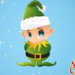 Funny Christmas-Elf